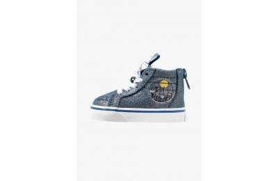 Vans SK8 ZIP HARRY POTTER - Zapatillas altas metallic