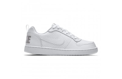 Zapatillas casual de niños Court Borough Low Nike Blanco