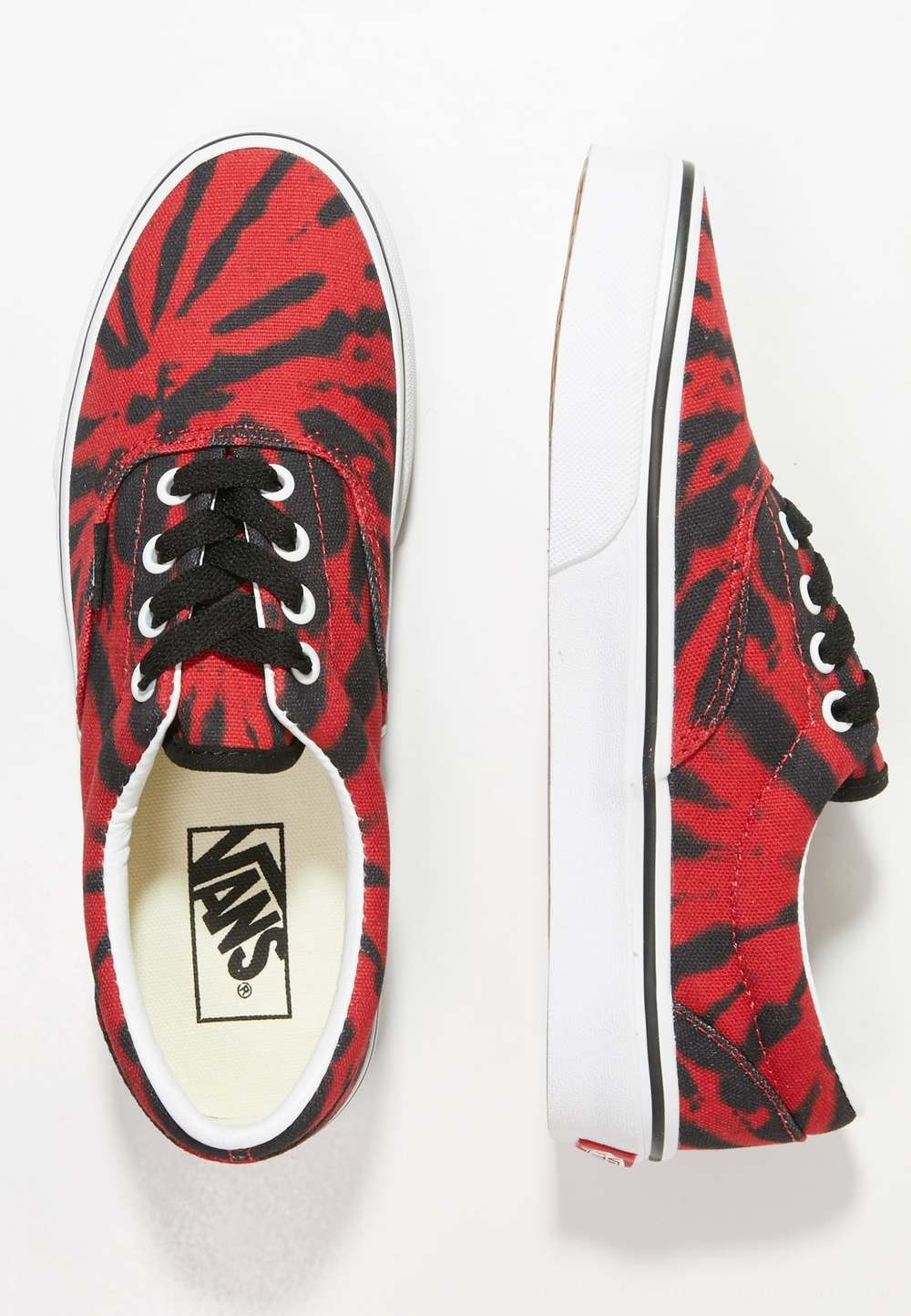 Vans UA ERA TIE DYE - Zapatillas skate tango red/true white
