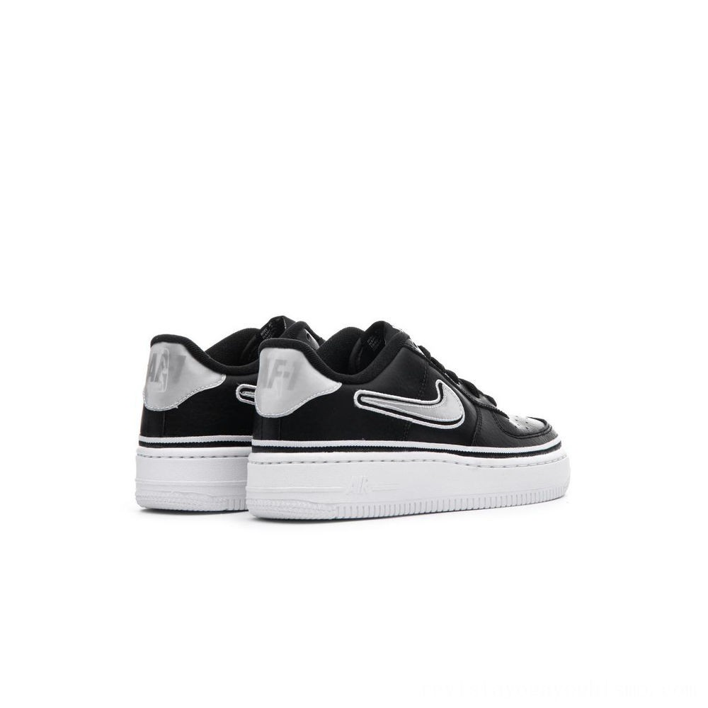 Zapatillas casual de niños Air Force 1 LV8 Sport Nike Negro