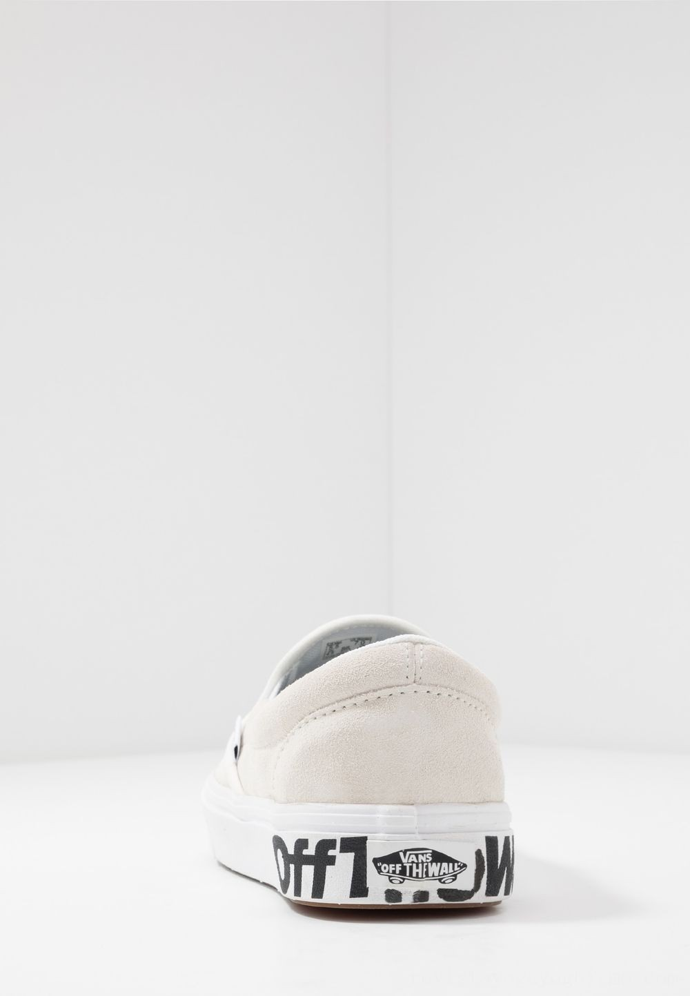 Vans Comfycush Slip-On - Mocasines blanc/black